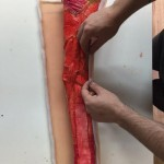 Arm Putting Skin On